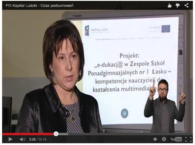 Kapitał Ludzki – projekt w Ekonomiku (wideo)