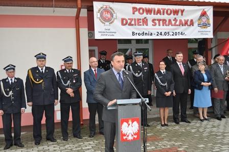 Powiatowy Dzień Strażaka 2014 w Brodni