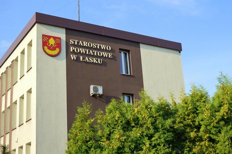 Zmiana godzin pracy kasy w Starostwie Powiatowym w Łasku