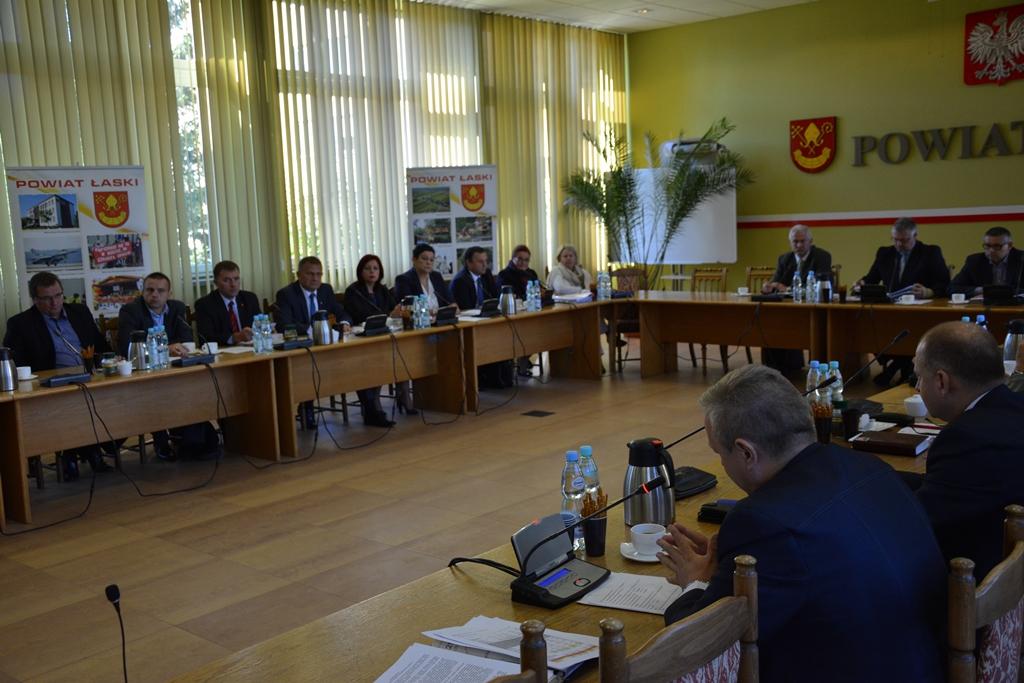 XVII sesja Rady Powiatu Łaskiego