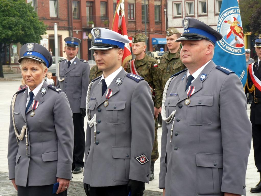 Powiatowe Obchody Święta Policji w Łasku