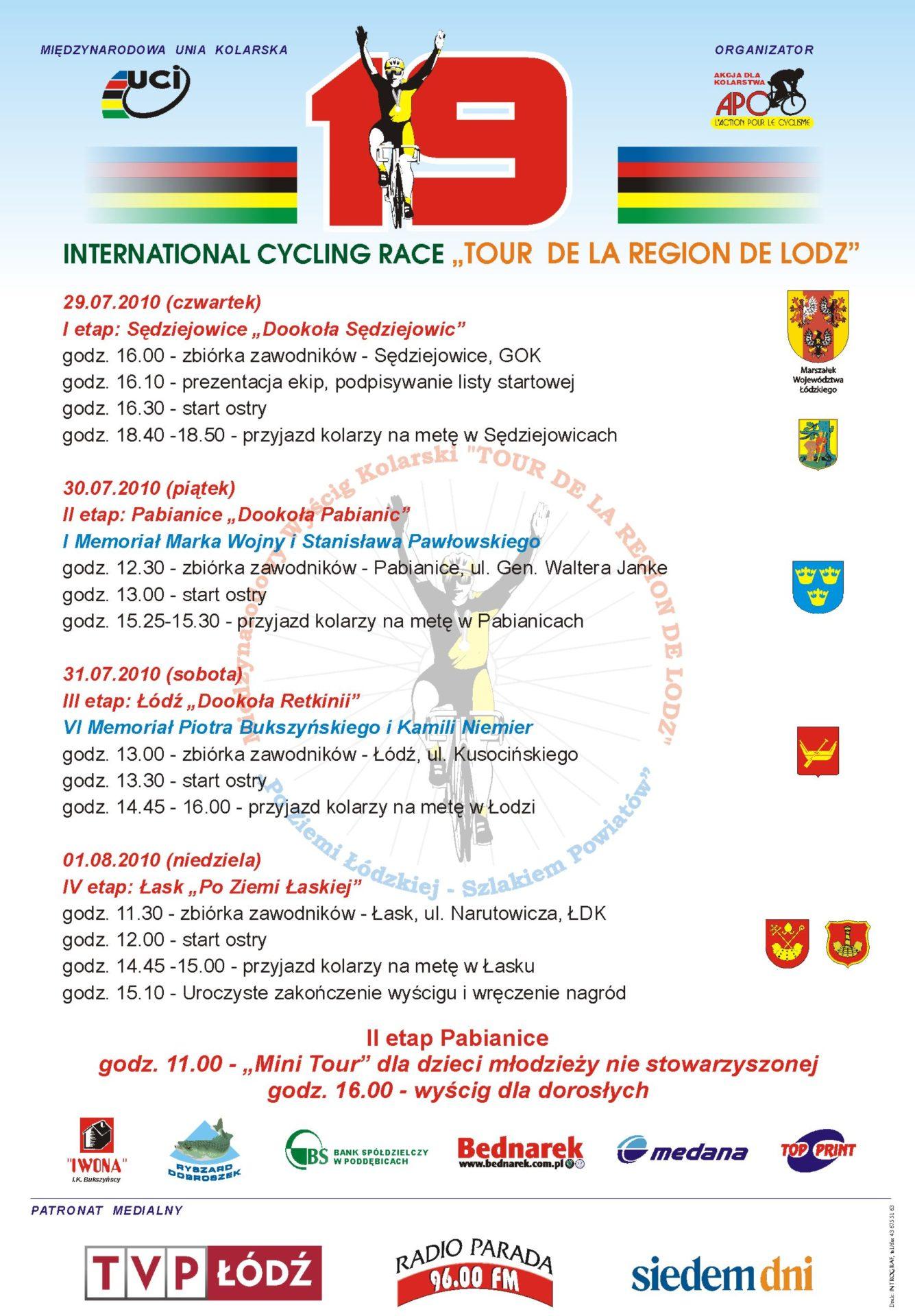 Międzynarodowy Wyścig Kolarski TOUR DE LA REGION DE LODZ