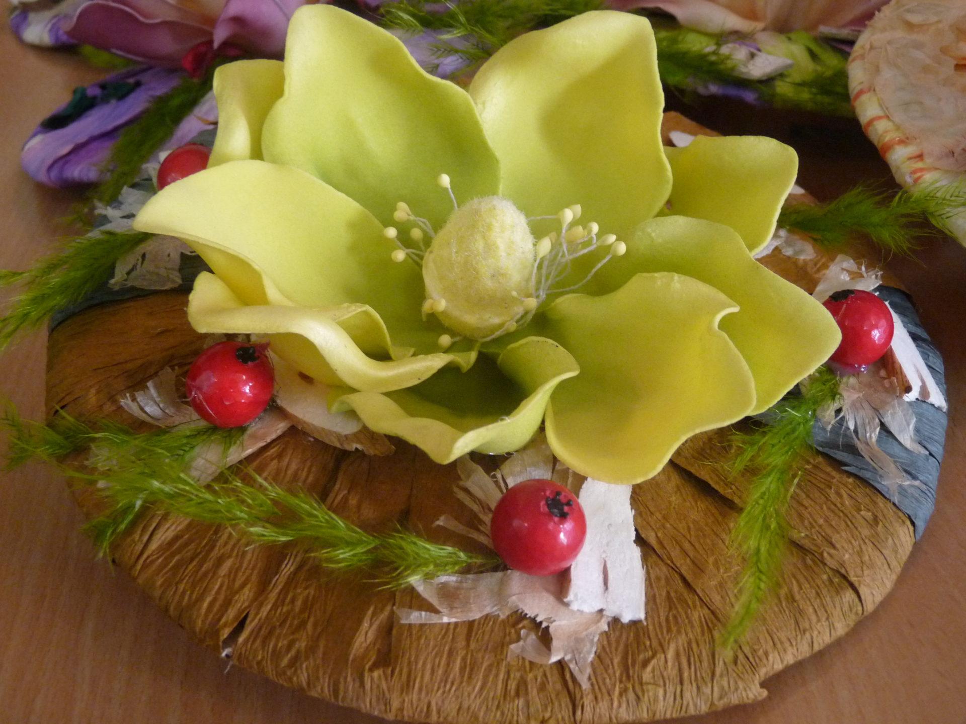 Kwiatowe dzieła sztuki młodych florystów z ZSO w Ostrowie