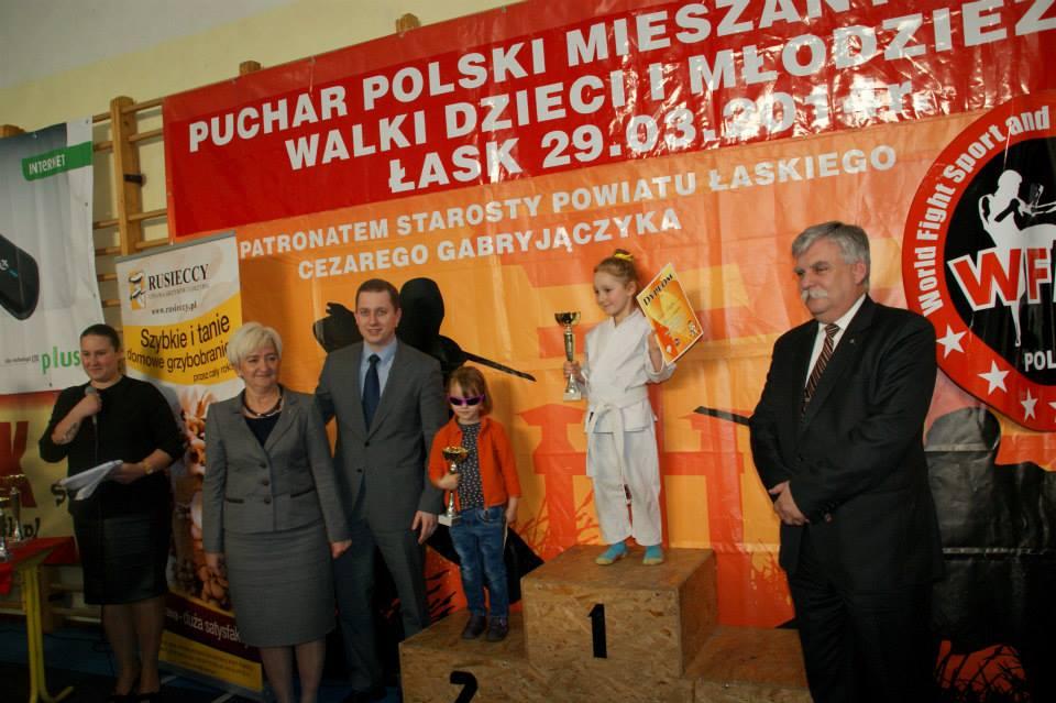 Puchar Polski Mieszanych Sztuk Walki pod patronatem Starosty Łaskiego