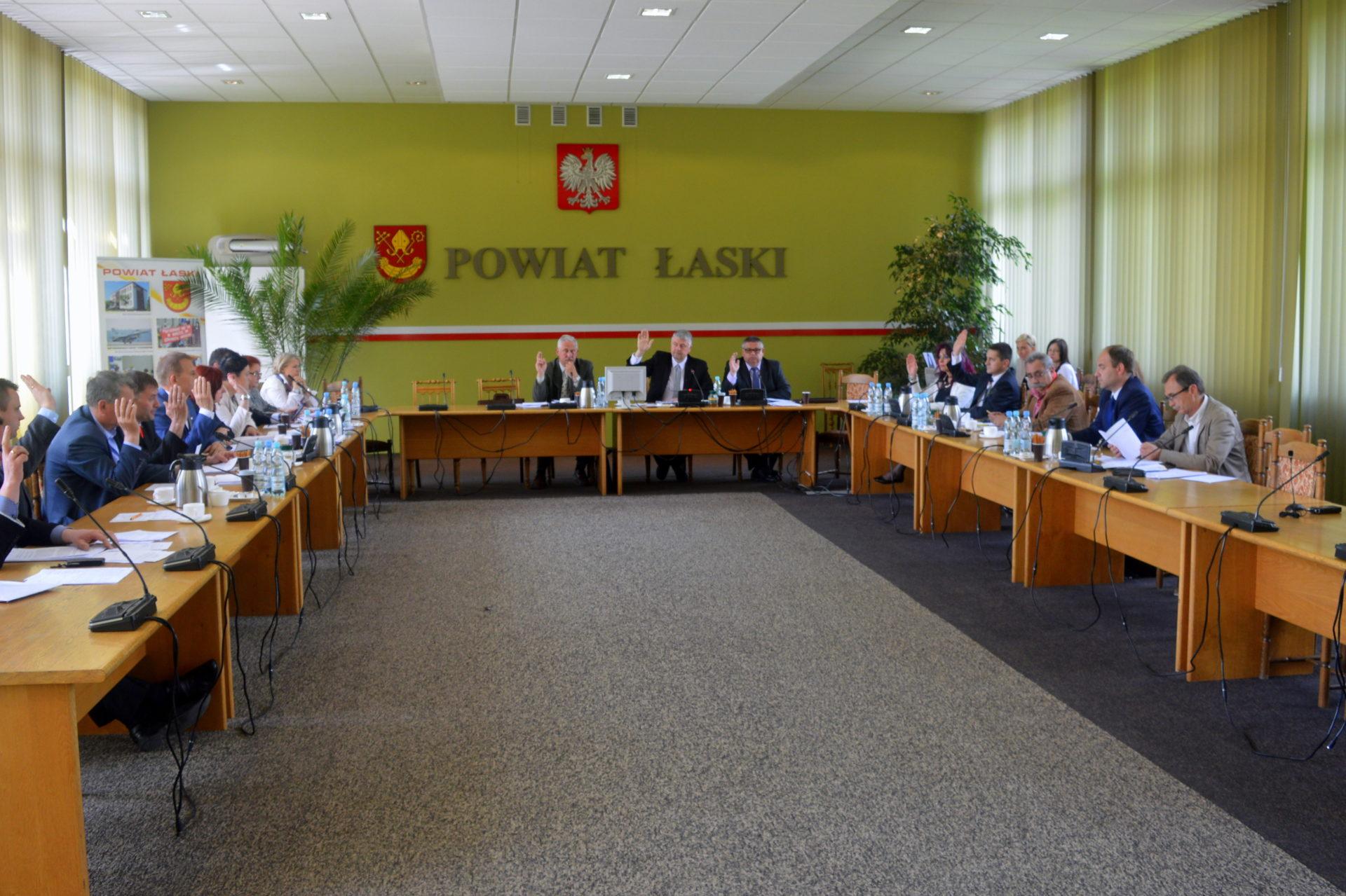 Przewodniczący Rady Powiatu Łaskiego zaprasza na XII sesję Rady Powiatu Łaskiego