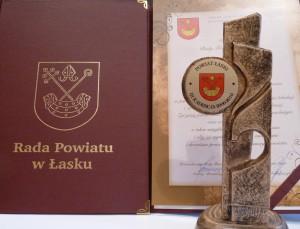 Uroczysta Sesja Rady Powiatu w Łasku