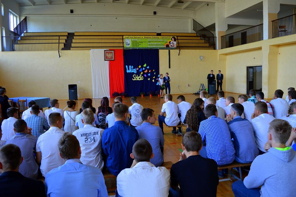 Oficjalnie rozpoczęcie roku szkolnego 2015/2016