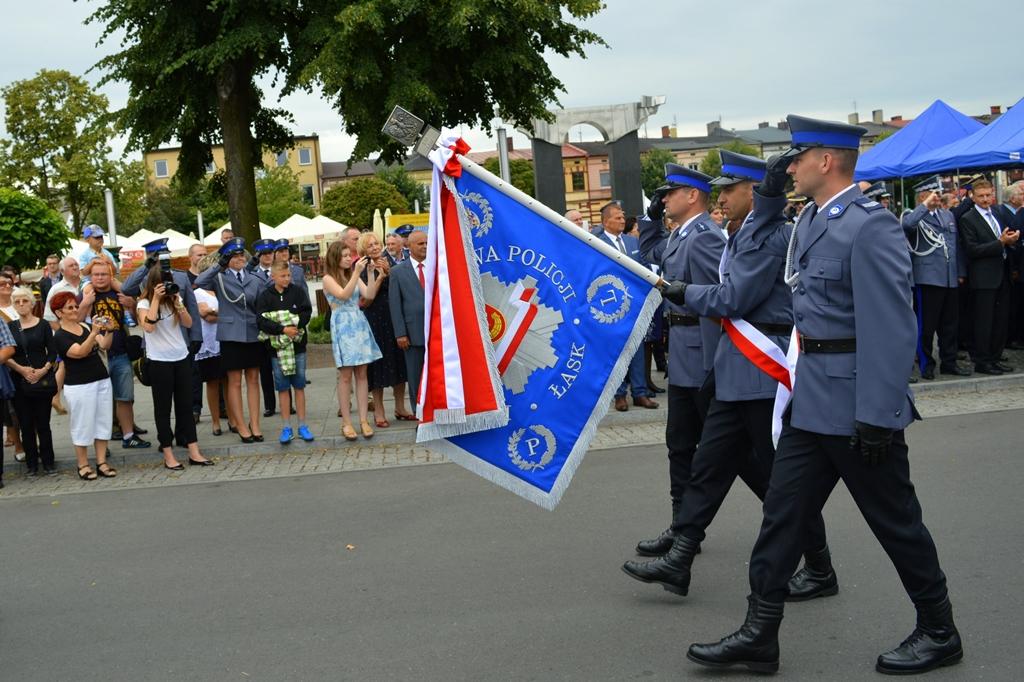 Wojewódzkie Święto Policji w Łasku