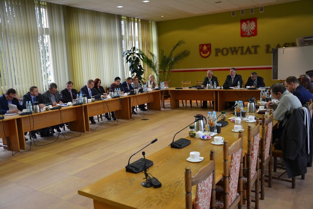 XX sesja Rady Powiatu Łaskiego