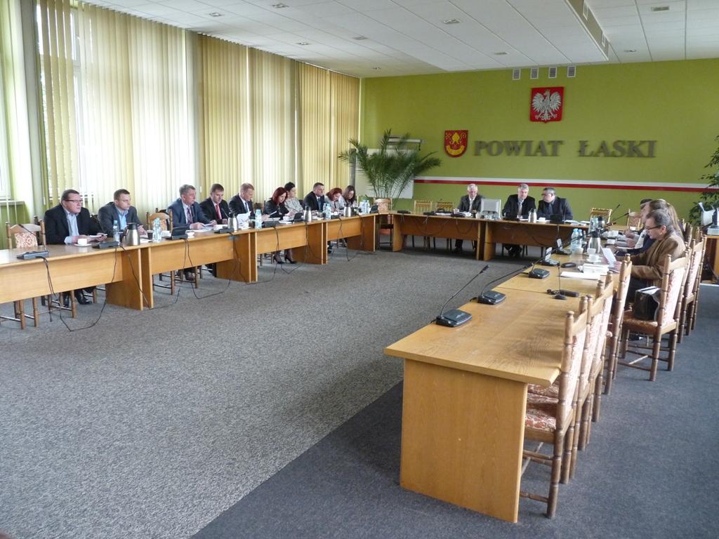 VII sesja Rady Powiatu Łaskiego
