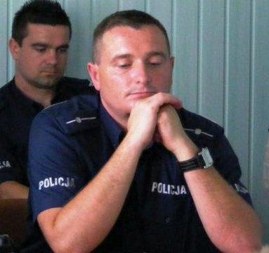 Policjant Roku 2013: Mariusz Bednarek reprezentuje Powiat Łaski