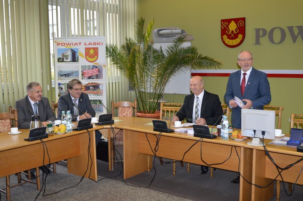 Ostatnie posiedzenie Konwentu Starostów w Łasku
