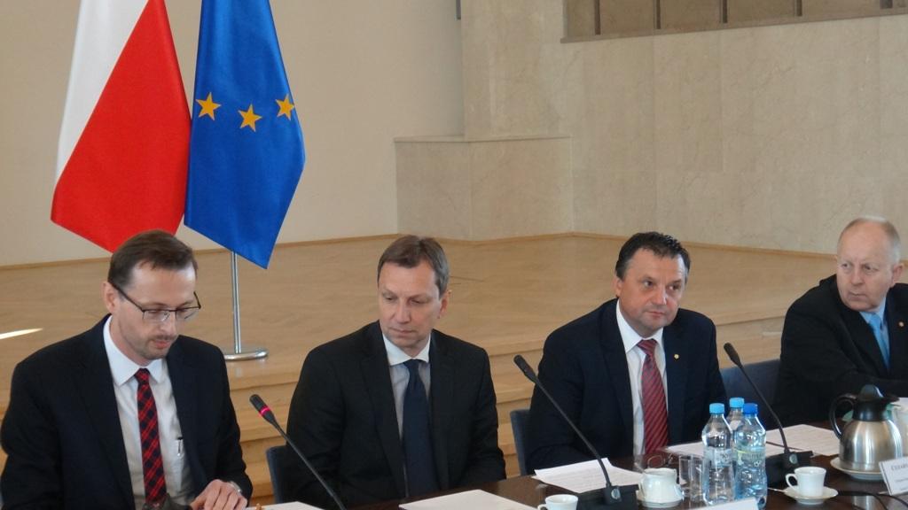 Starosta Łaski poprowadził Komisję Wspólną