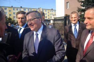 Prezydent RP w Łasku