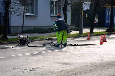 Prace modernizacyjne na drogach powiatowych