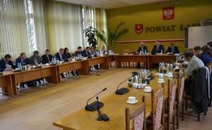 XXVI sesja Rady Powiatu Łaskiego