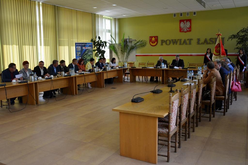 XXVIII sesja Rady Powiatu Łaskiego