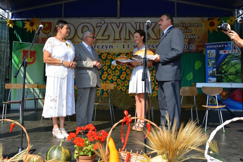 Dożynki powiatowo-gminno-parafialne w Wiewiórczynie