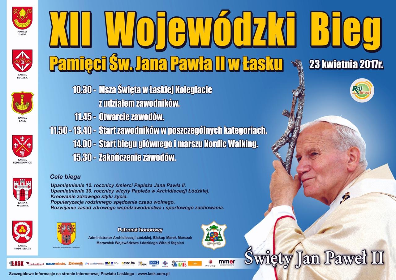 Bieg Papieski: Trwają zapisy!