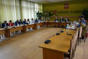LIII sesja Rady Powiatu Łaskiego