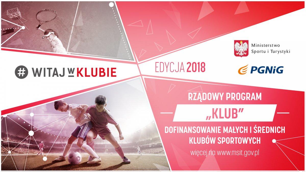 Rusza III edycja Programu KLUB!