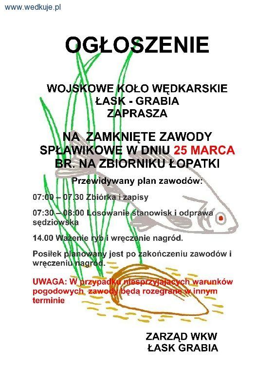 Zawody Spływakowe Łopatki