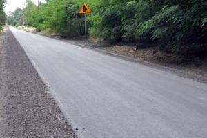 Przebudowa drogi Grzeszyn – Gucin zakończona