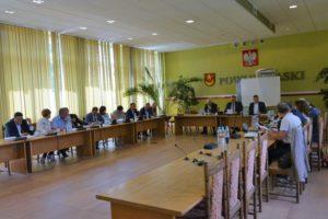 LV sesja Rady Powiatu Łaskiego