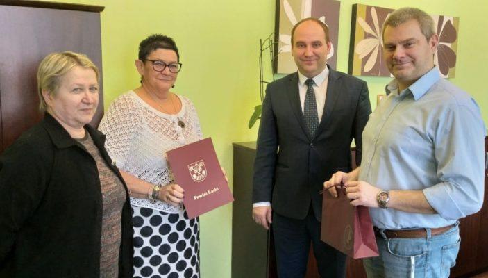 """""""Nauczyciel na medal 2018"""" z terenu Powiatu Łaskiego"""
