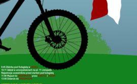 """Rajd rowerowy """"Biało – Czerwona na rowerze"""""""
