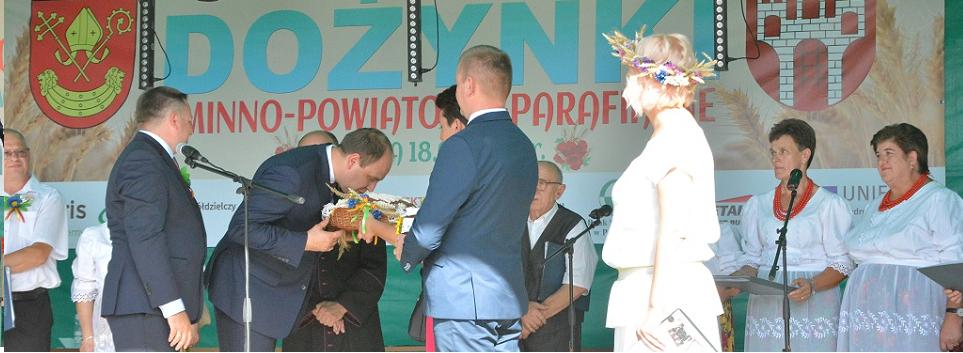 artykuł  Dożynki Gminno - Powiatowo - Parafialne w Widawie