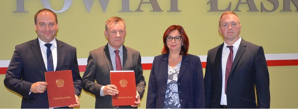 artykuł  Ponad 4,5 mln zł dofinansowania dla Powiatu Łaskiego