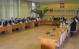 XXX sesja Rady Powiatu Łaskiego