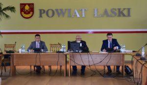 XXXII sesja Rady Powiatu Łaskiego