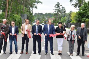 Uroczyste otwarcie ulicy Sportowej oraz Ogrodowej