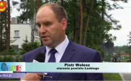 Inwestycje w Powiecie Łaskim (wideo)