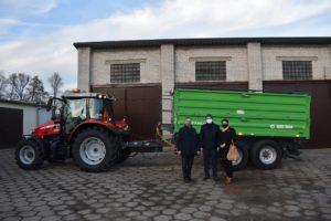 Nowe maszyny dla Powiatowego Zarządu Dróg w Łasku
