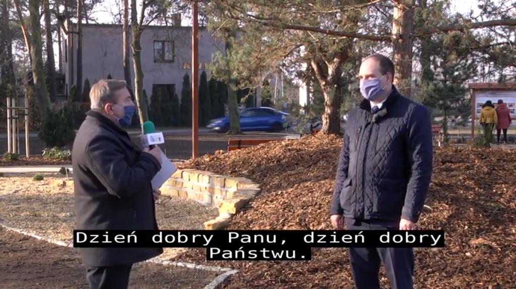 Rozmowa ze Starostą Łaskim Piotrem Wołoszem podsumowująca rok