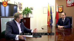 Rozmowa ze Starostą Łaskim – Piotrem Wołoszem o planach na 2021 rok