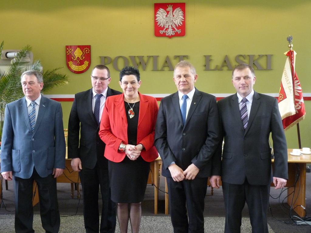 Teresa Wesołowska nowym Starostą Łaskim