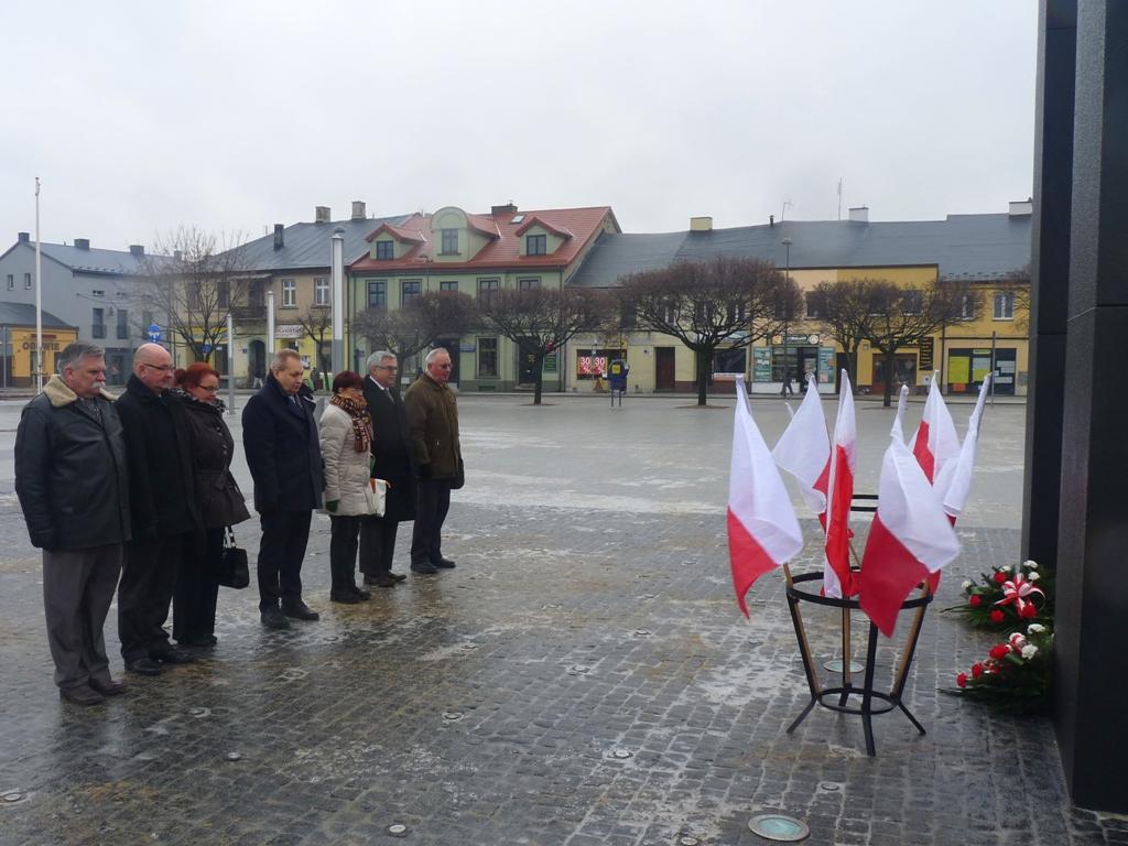 69. rocznica wyzwolenia Łasku spod okupacji hitlerowskiej