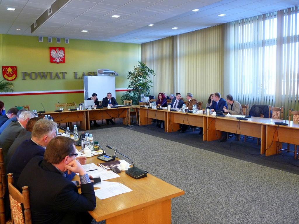 V sesja Rady Powiatu Łaskiego