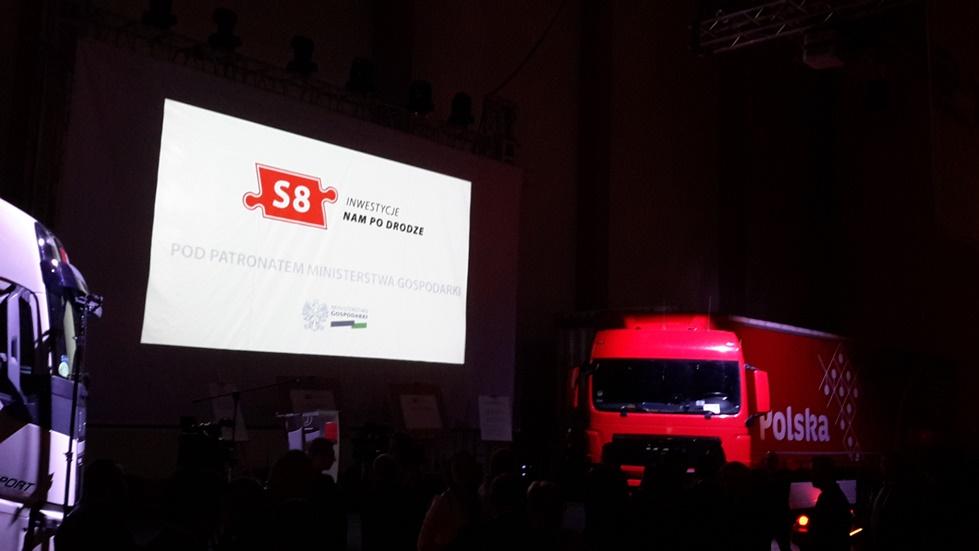 """Konferencja """"S8 – Inwestycje nam po drodze"""""""