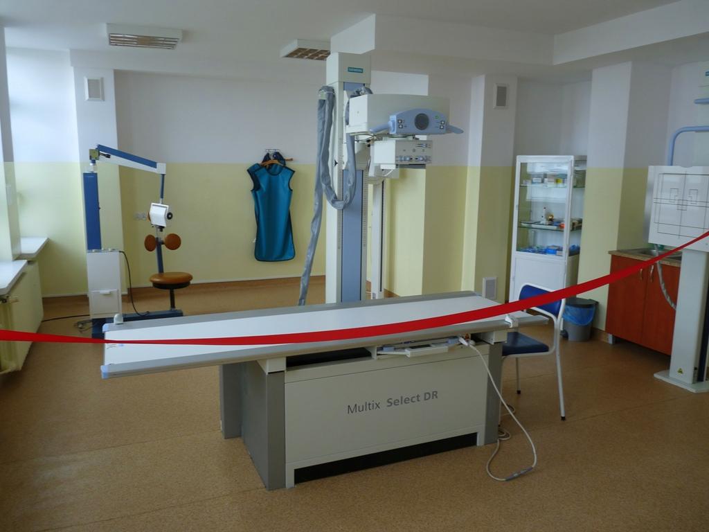 Nowy aparat RTG w szpitalu w Łasku