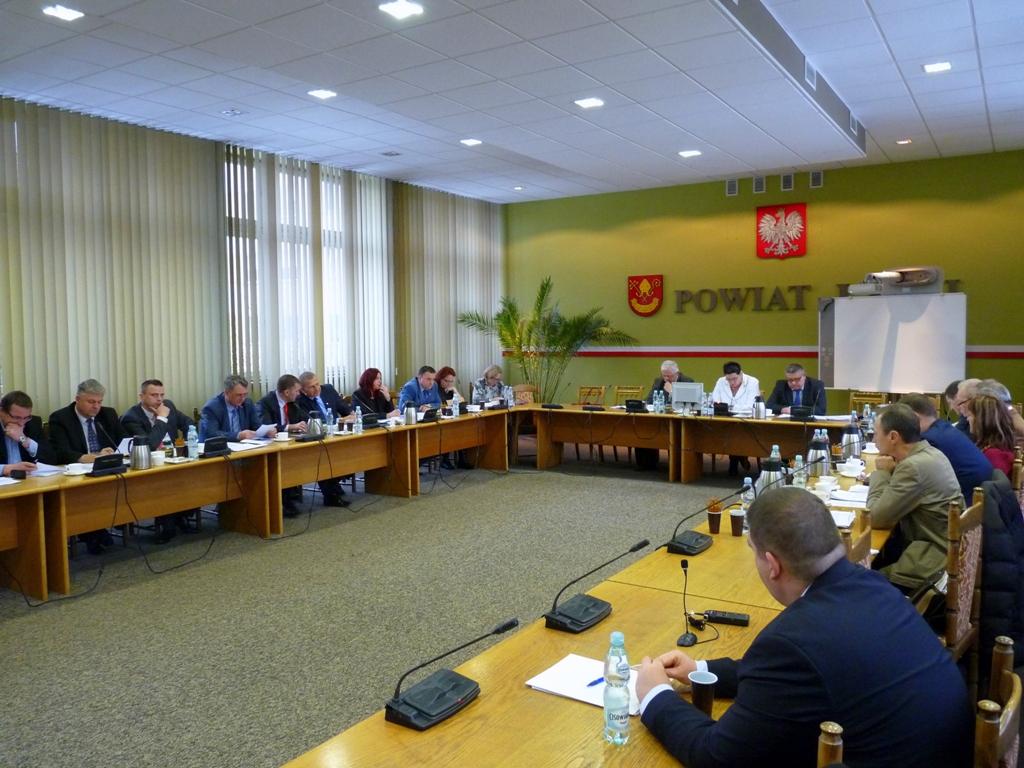 VI sesja Rady Powiatu Łaskiego