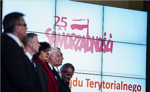 Samorządowcy Powiatu Łaskiego u Prezydenta Rzeczypospolitej Polskiej