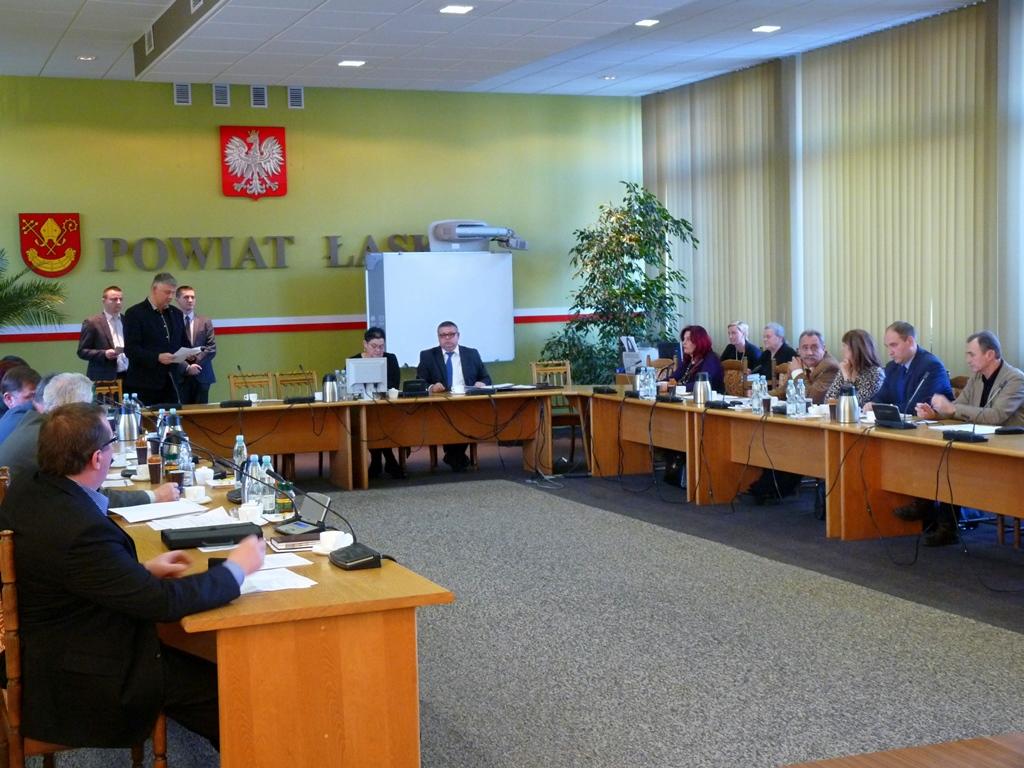 IV Sesja Rady Powiatu Łaskiego