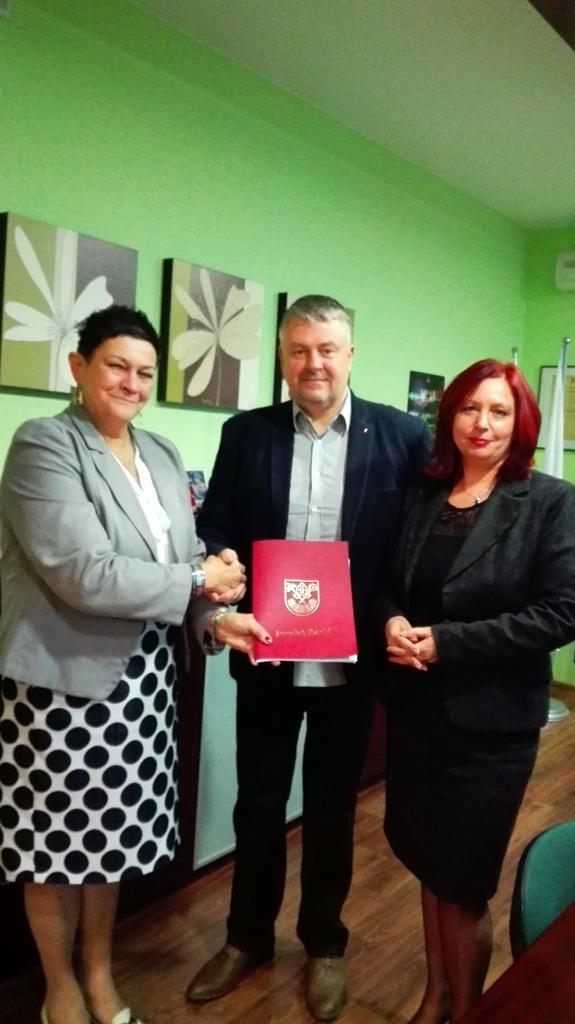 Przekazanie budżetu Powiatu Łaskiego na 2016 rok