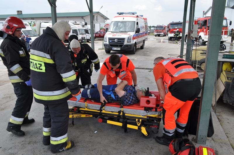 Powiatowe ćwiczenia jednostek ochrony przeciwpożarowej