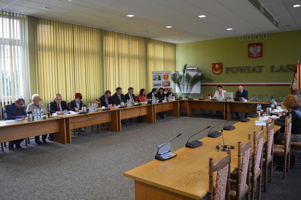 Uroczysta Sesja Rady Powiatu Łaskiego